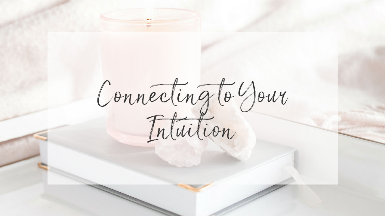 Courses with Necole Stephens - CONNECTING TO YOUR INTUITION
